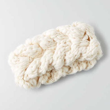 AEO Cable Headband, Cream