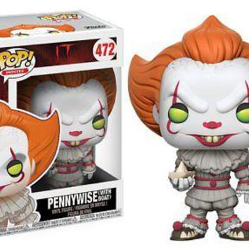 Funko Pop Movies: IT - Pennywise with Boat Collectible Figure