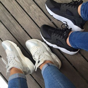 NIKE AIR HUARACHE trendy brand men and women casual wild sports shoes F