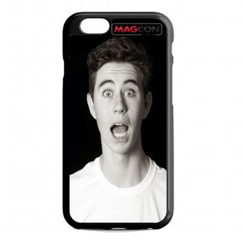 Nash Grier Face 2 For iphone 6 case