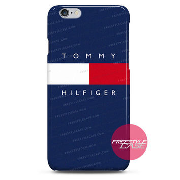 Tommy Hilfiger logo Brand Fahion iPhone Case 3, 4, 5, 6 Cover