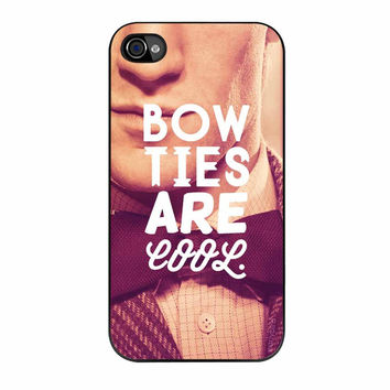 Doctor Who Dr Smith Bow Ties Are Cool iPhone 4 Case