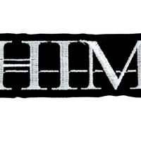 HIM Ville Valo Patch Iron on Applique Gloom Metal