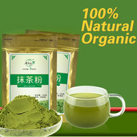 100g Matcha Green Tea Powder 100% Natural Organic slimming tea matcha tea weight loss food+Buy more than 2 packages & earn gifts