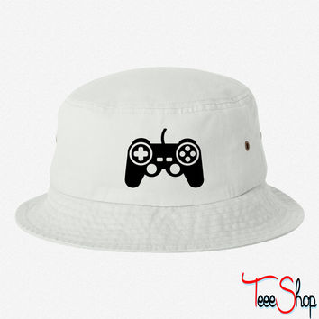 Game pad controller bucket hat