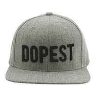 B2 – DOPEST SNAPBACK – HEATHER GRAY