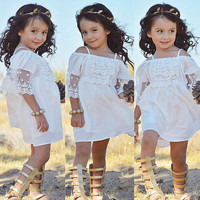 Lace Girl Clothing Princess Dress Baby Clothing