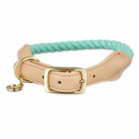 Bond & Co. Turquoise & Buff Rope Collar | Petco
