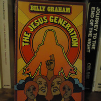 The Jesus Generation by Billy Graham Religion 1971 Paperback Vintage Retro Church Storytelling