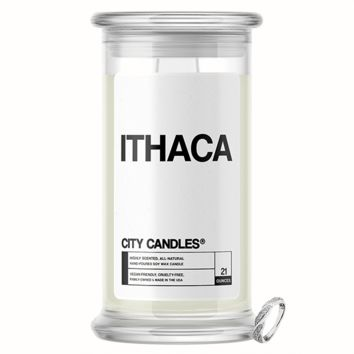 Ithaca City Jewelry Candle
