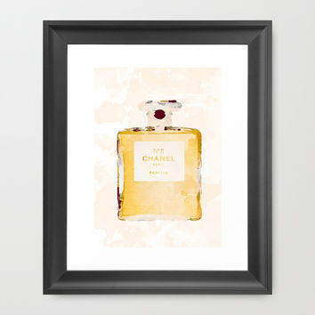 Chanel Nº5 Framed Art Print by Rui Faria