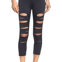 Onzie Shred Capri Leggings | Nordstrom