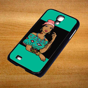 Pocahontas Hipster For Samsung Galaxy S4 Case *76*