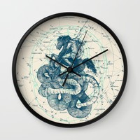 Perseus Wall Clock by Pato