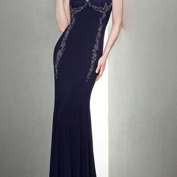 Mignon Long Formal Dress Evening Gown Prom