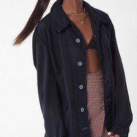 Vintage Button-Down Civilian Jacket   Urban Outfitters