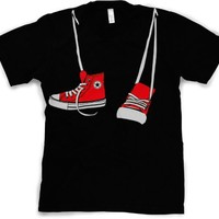 Step Brothers Shoes T-Shirt funny shoe shirt (Classic Movie Shirts)