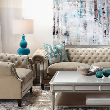 Live In Color Living Room4 look on @ZGallerie