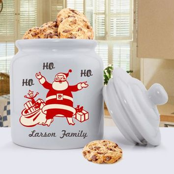 Holiday Cookie Jar Designs - Vintage Santa