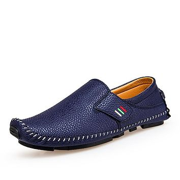 Casual Breathable Leather Hombre Shoes