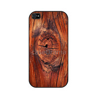 Wood Texture Rubber iPhone Case iPhone 4 iPhone 4 by caseOrama