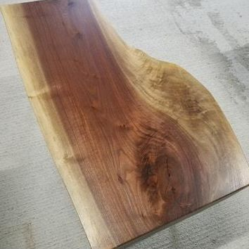 Black Walnut Coffee Table w/ Hairpin Legs - shipping to United States included