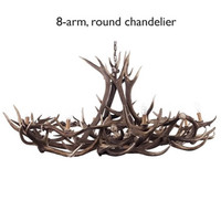 Fight Me Grand Antler Chandelier