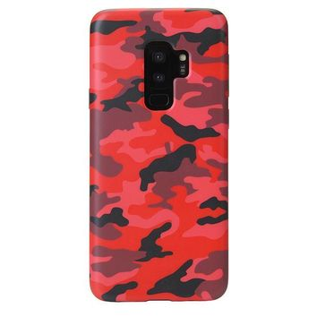 Red Camo Samsung Galaxy Case