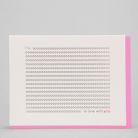 Ashkahn I'm Sooo In Love With You Card - Urban Outfitters