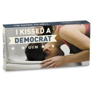 Blue Q Gum I Kissed a Democrat