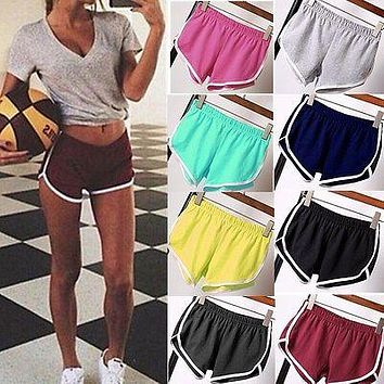 Women's Summer Sports Shorts Gym Workout Fitness Yoga Beachwear Shorts åÊFREE SHIPPING
