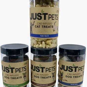 JUSTPets CBD Treats 100mg