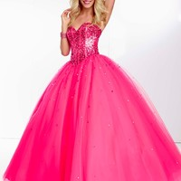 Paparazzi by Mori Lee 95010 Ball Gown Prom Dress