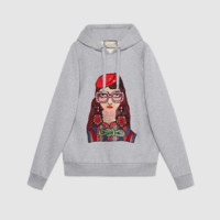 """Gucci"" Women Hoodie Casual Girls Print Long Sleeve Sweater"