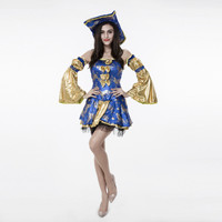 Pirate Cosplay Anime Cosplay Apparel Halloween Costume [9220885764]