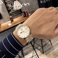 HCXX 19July 933 Longines business style mechanical movement steel strap watch size 40mm × 11mm