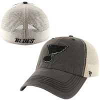 St. Louis Blues '47 Brand Caprock Canyon Flex Hat – Charcoal