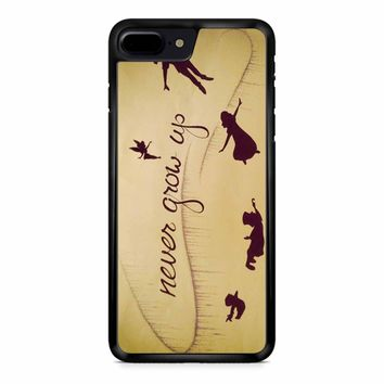 Peter Pan Never Grow Up iPhone 8 Plus Case