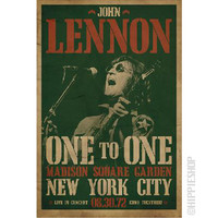 John Lennon - Concert Poster on Sale for $6.95 at HippieShop.com