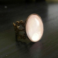 Pearl antique ring