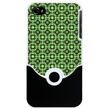 Decorative Green And Black Iphone 4 Slider Case> Decorative Green and Black> Accessorize Me