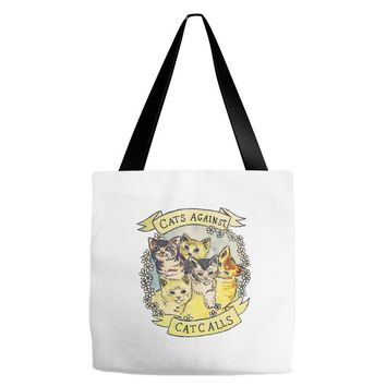 cats against cat calls Tote Bags