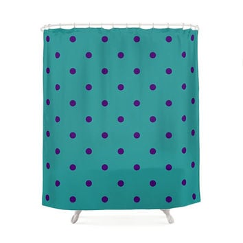 Shop Purple And Turquoise Curtains on Wanelo