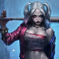 Harley Quinn Wall Decor Poster
