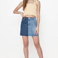 PacSun Two-Tone Skirt at PacSun.com