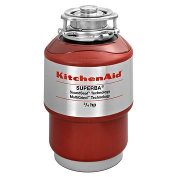 KitchenAid 3/4 HP Continuous Feed Garbage Disposal-KCDS075T - The Home Depot