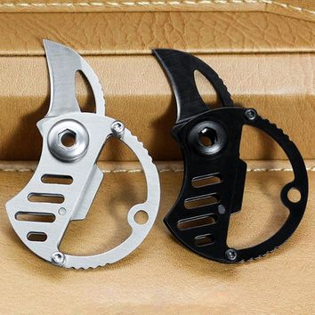 Outdoor Folding Knife EDC Survival Fishing Tactical Hunting Stainless Steel Knife Outdoor Camping Hiking Accessories