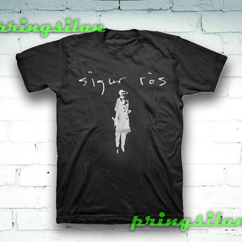 Sigur Ros custom 100% pre-shrunk cotton for women and men , size S,M,L,XL,2XL