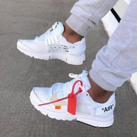 Off White X Nike Air Presto Gym Shoes-6
