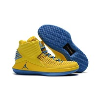 Air Jordan XXX2 Yellow Blue